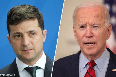 В Офісі президента виправили деталі переговорів Зеленського та Байдена (оновлено)