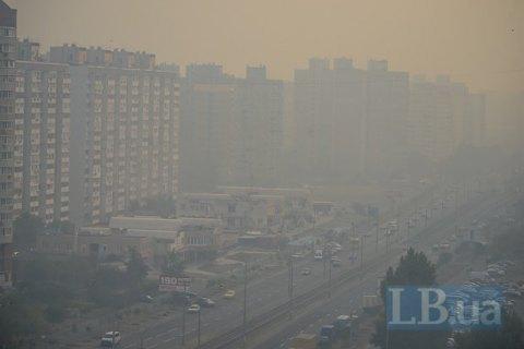 МОЗ не вважає критичною ситуацію з димом у Києві