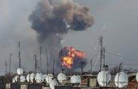 Інтенсивність вибухів у Балаклії зменшилася до двох на годину