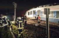 В Германии при столкновении поездов пострадали около 50 человек