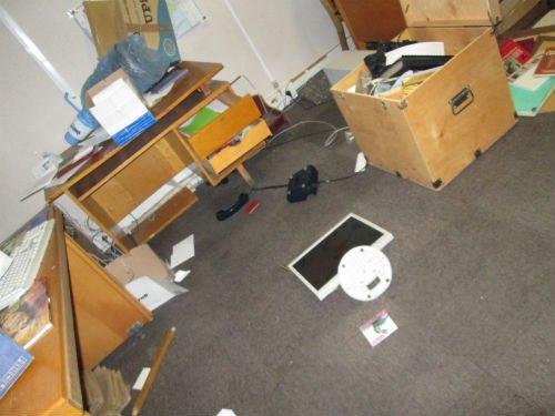 Рабочая комната сотрудников музея