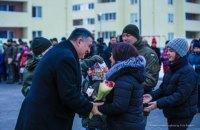 Бойцы Нацгвардии получили 80 квартир под Вышгородом