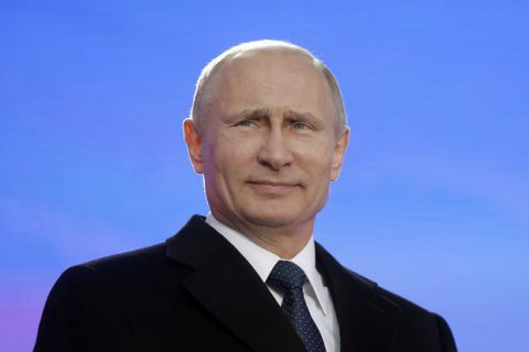 Путін приїхав до окупованого Криму