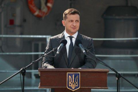 Военно-морской парад честь Дня ВМС Украины в Одессе