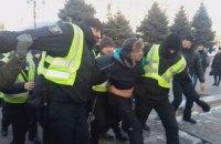Полиция отпустила помощника Савченко после установления личности