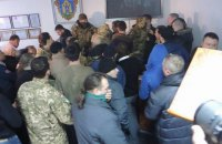 """Київські """"свободівці"""" побили броварських"""