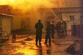 В России горел еще один клуб