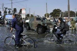 Японские власти назвали высоту разрушительных цунами