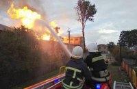 В Збараже возник серьезный пожар на спиртовой базе