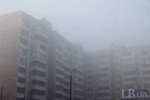 У Києві фіксують перевищення концентрації пилу в повітрі, - КМДА