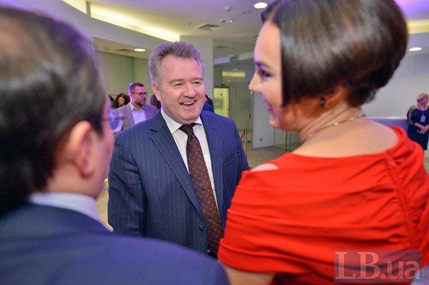Глава ВРЮ Игорь Бенедысюк (в центре)