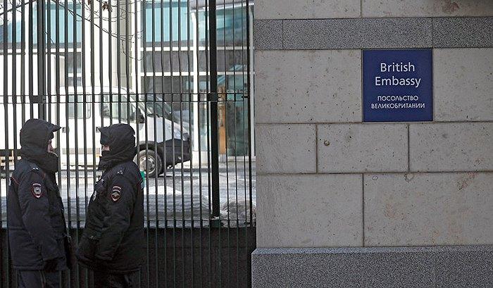 Британское посольство в Москве, 17 марта 2018