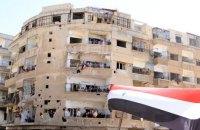 Сирийская армия вошла в город Манбидж у границы с Турцией