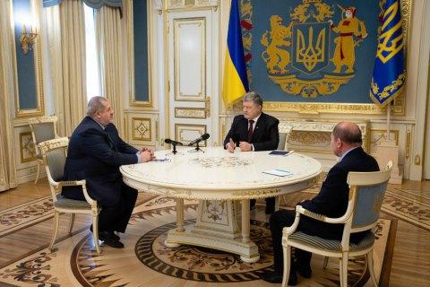 Порошенко подаст законопроект о крымских коллаборационистах
