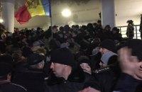 В Молдове взяли штурмом парламент