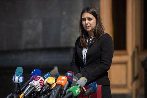 Пресс-секретарь Зеленского задекларировала 936 тыс. гривен доходов за прошлый год