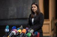 Прессекретарка Зеленського задекларувала 936 тис. гривень доходів за минулий рік