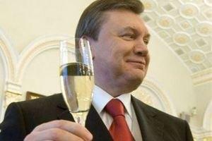 """Янукович відсвяткував день народження з друїдами і """"зірками"""" російської естради"""