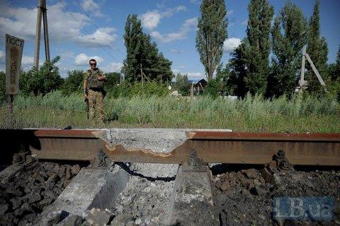 УЗ відремонтувала залізницю в окупований Алчевськ