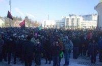 Главу Волынского облсовета вынудили уйти в отставку, а губернатора - стать на колени