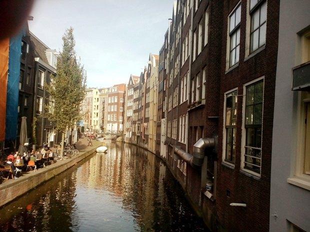 Каналы Амстердама - наслаждение для эстетов