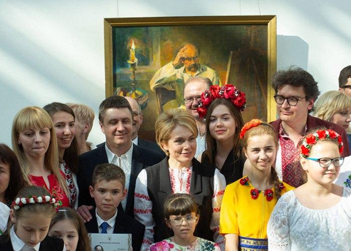 Дмитро Дроздовський на заході МОН