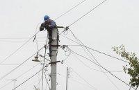 Из-за непогоды в Украине обесточены 60 населенных пунктов в трех областях
