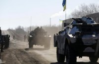 Штаб АТО: вывод военных из Дебальцево завершается