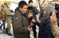 Главы МИД Украины и Дании не смогли попасть в Широкино из-за обстрелов