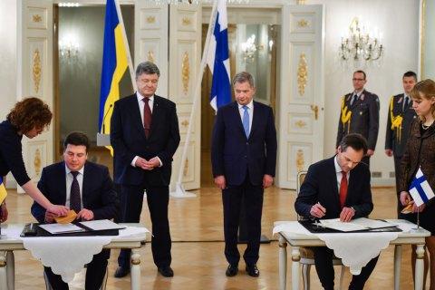 """Україна і Фінляндія підписали меморандум про співпрацю в галузі енергоефективності та """"зеленої"""" енергетики"""