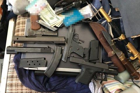 СБУ ликвидировала в Киеве сеть сбыта контрабандного оружия