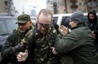 """Боєць """"Айдару"""" розповів про своє викрадення на акції біля Міноборони"""