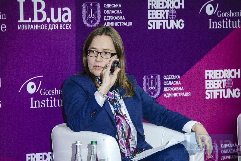 Заместитель главы Представительства Европейского Союза в Украине Анника Вайдеманн