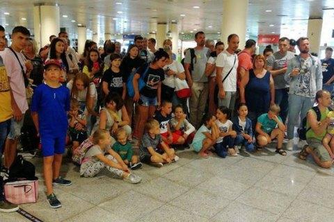 150 пассажиров SkyUp второй день не могут улететь из Барселоны в Харьков