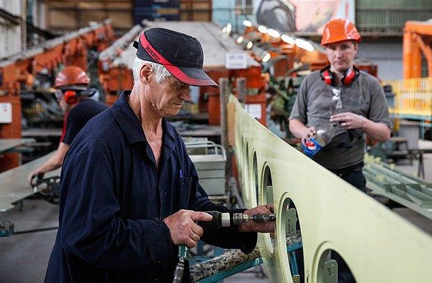Производство на заводе Антонова
