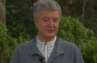 Порошенко про Медведчука: ми звільнили тисячі людей, це важливіше за мої білі рукавички
