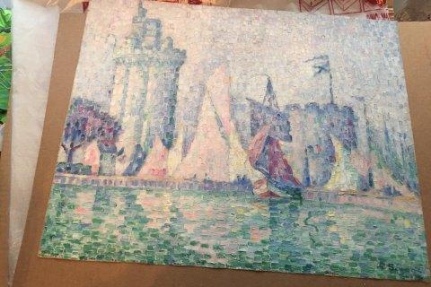 Украина вернет Франции найденную картину художника Поля Синьяка стоимостью $1,5 млн