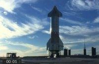 SpaceX начала трансляцию тестового запуска корабля Starship для полетов на Марс