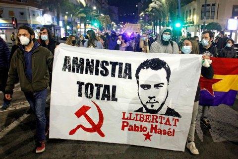 Репер-сталініст і протести. Чому знов неспокійно в Іспанії