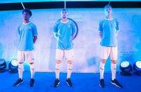 """""""Манчестер Сити"""" презентовал ретро-форму в честь 125-летия клуба, в которой он выступит в матче Суперкубка Англии"""