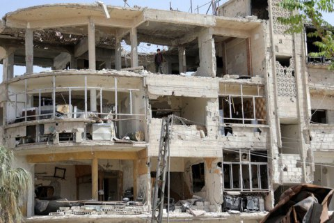 Специалисты ОЗХО взяли образцы для анализа всирийской Думе