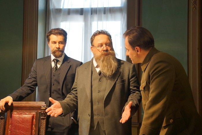 Евгений Нищук, Богдан Бенюк и Сергей Фролов