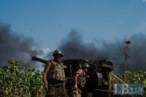 Сили АТО за добу 25 разів вступали в бій з терористами