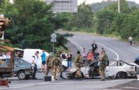 """СБУ: У Мукачевому в оточенні перебуває понад десяток бійців """"Правого сектору"""""""