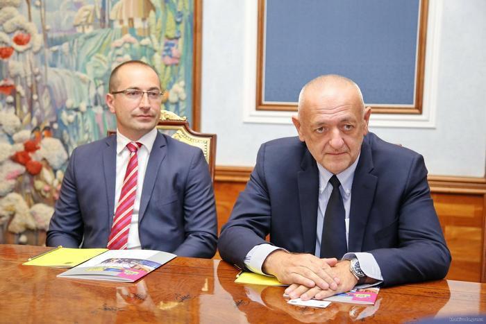 Столе Змейкоскі (ліворуч) і Раде Булатович