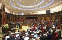 Парламент Армении не поддержал проведение досрочных выборов в этом году