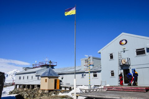 В Украину вернулись участники 24-й антарктической экспедиции