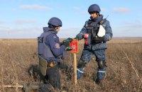 В районе разведения войск возле Петровского нашли 89 взрывоопасных предметов