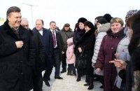 Януковичу в Виннице целовали руки