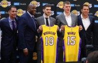 Клуб НБА презентовал украинского легионера